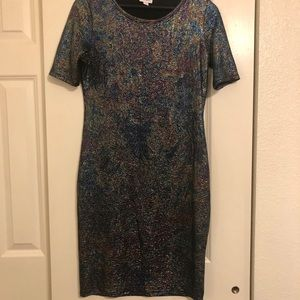 LuLaRoe Julia Dress Size Medium